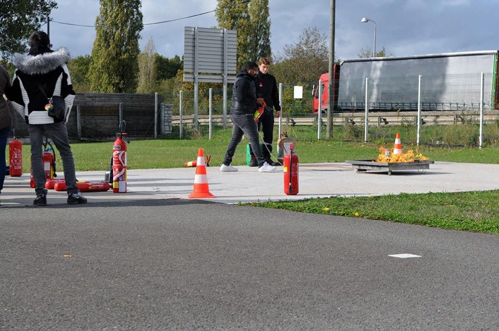 sécurité incendie - formation incendie - feu - incendie
