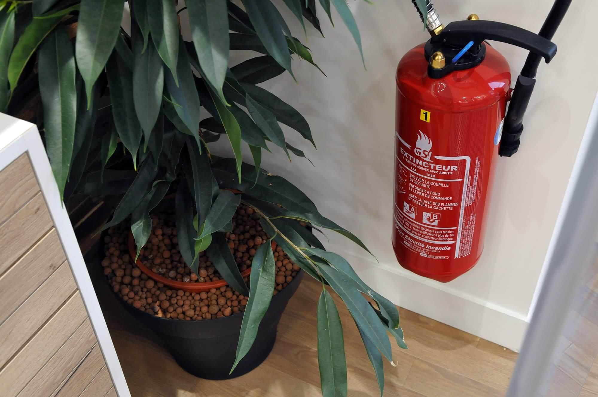 Extincteur - sécurité incendie - entreprise - sécurité