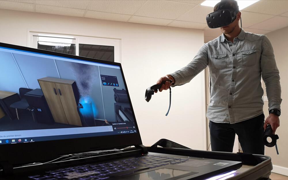 Découvrez la formation incendie virtuelle chez GSI !
