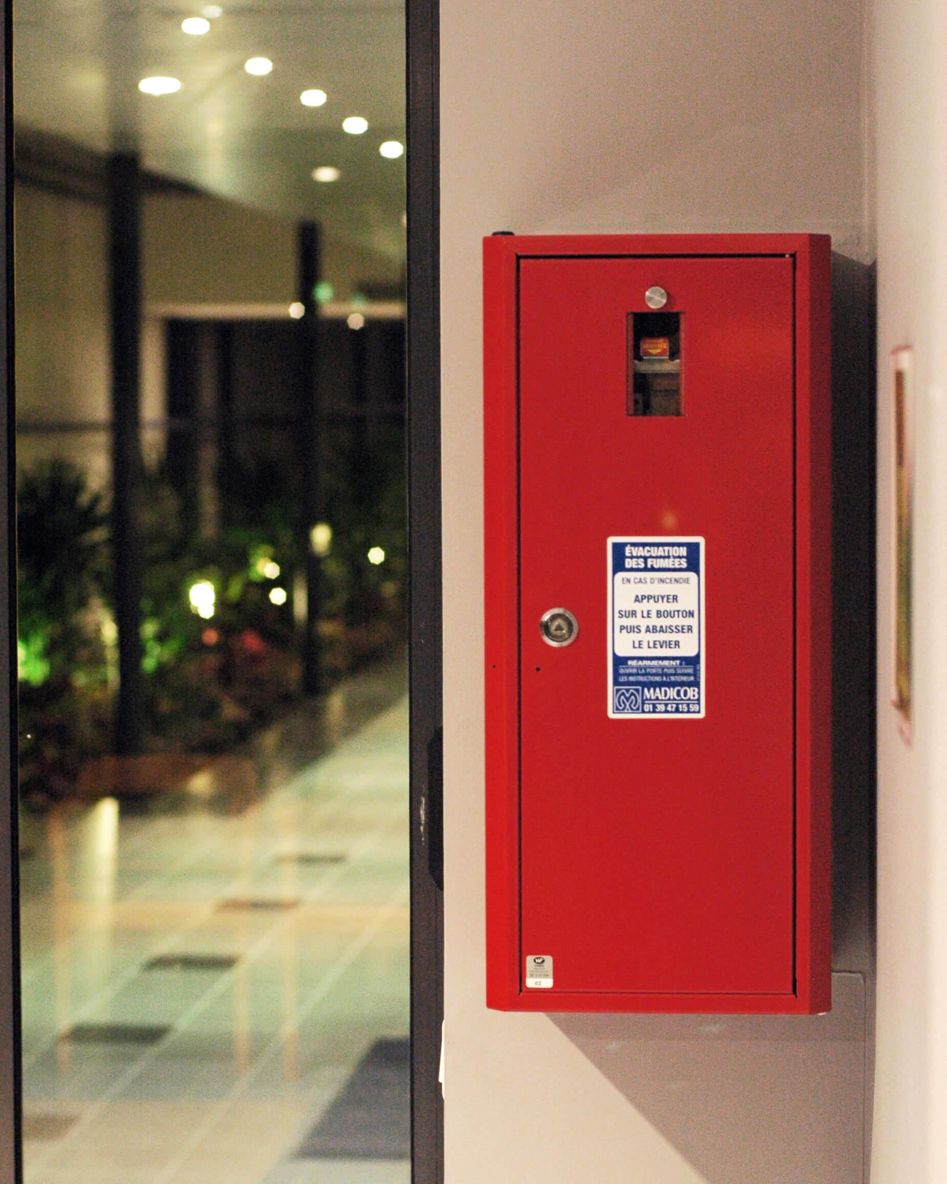 système de désenfumage - désenfumage - sécurité incendie - paris